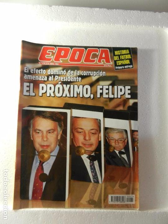 REVISTA EPOCA 25 DE ABRIL DE 1994 Nº 478. LA CORRUPCIÓN AHOGA AL GOBIERNO. RUANDA Y BURUNDI. (Coleccionismo - Revistas y Periódicos Modernos (a partir de 1.940) - Revista Época)
