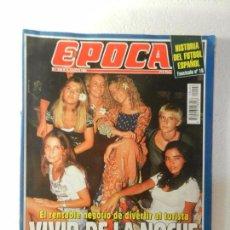 Coleccionismo de Revista Época: REVISTA EPOCA 15 DE AGOSTO 1994 Nº 494. BELLOCH: MANO BLANDA FRENTE A ETA. . Lote 85464896