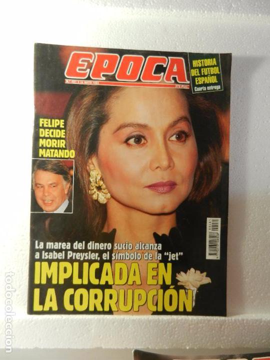 REVISTA EPOCA 16 DE MAYO 1994 Nº 481. CLAN DE LOS ROLDANES. BOTERO: ELOGIO DE LA GORDURA. (Coleccionismo - Revistas y Periódicos Modernos (a partir de 1.940) - Revista Época)