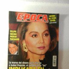 Coleccionismo de Revista Época: REVISTA EPOCA 16 DE MAYO 1994 Nº 481. CLAN DE LOS ROLDANES. BOTERO: ELOGIO DE LA GORDURA. . Lote 85465084