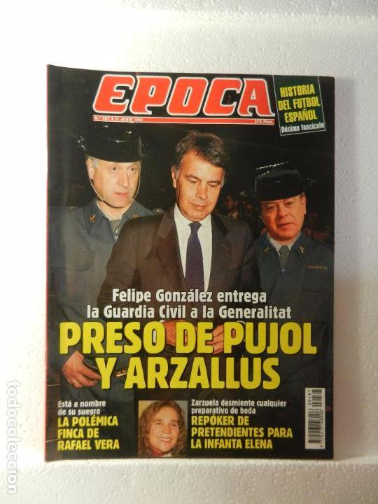 REVISTA EPOCA 27 DE JUNIO 1994. Nº 487. ENTREVISTA A JAVIER ARENA. NOVIOS PARA LA INFANTA ELENA. (Coleccionismo - Revistas y Periódicos Modernos (a partir de 1.940) - Revista Época)