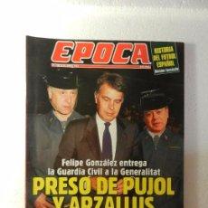 Coleccionismo de Revista Época: REVISTA EPOCA 27 DE JUNIO 1994. Nº 487. ENTREVISTA A JAVIER ARENA. NOVIOS PARA LA INFANTA ELENA. . Lote 85465328