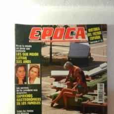 Coleccionismo de Revista Época: REVISTA EPOCA 8 DE AGOSTO 1994 Nº 493. LOS REYES ABREN LAS PUERTAS DE MARIVENT. . Lote 85465448