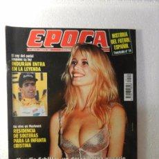 Coleccionismo de Revista Época: REVISTA EPOCA 1 DE AGOSTO DE 1994 Nº 492. TRASVASE TAJO SEGURA. LA TRAMA DE IBERCORP. . Lote 85507944