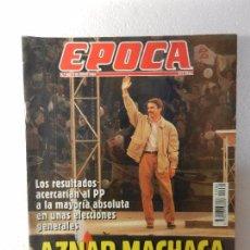 Coleccionismo de Revista Época: REVISTA EPOCA 20 DE JUNIO DE 1994 Nº 486. RADIOGRAFÍA DEL CAMPEONATO DEL MUNDO DE FÚTBOL. . Lote 85508060