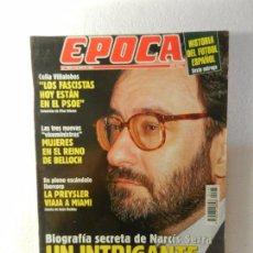 Coleccionismo de Revista Época: REVISTA EPOCA 30 DE MAYO DE 1994 Nº 483. PERIODISTAS INSPECCIONADOS POR EL FISCO. . Lote 85508308
