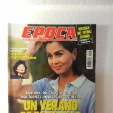 Coleccionismo de Revista Época: REVISTA EPOCA 22 DE AGOSTO DE 1994 Nº 495. ENTREVISTA A JORGE VALDANO. . Lote 85508400
