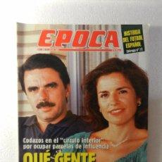 Coleccionismo de Revista Época: REVISTA EPOCA 4 JULIO DE 1994 Nº 488. GALERÍAS DEPRECIADAS. ENTREVISTA A GABRIEL CISNEROS. . Lote 85508664