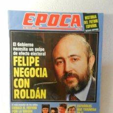 Coleccionismo de Revista Época: REVISTA EPOCA 13 DE JUNIO DE 1994 Nº 485. ENTREVISTA A RICARDO GARCIA DAMBORENEA. . Lote 85508788