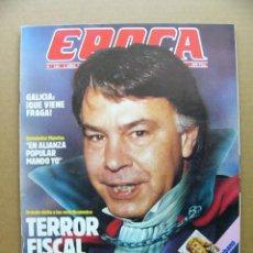Coleccionismo de Revista Época: EPOCA Nº 160 HERNANDEZ MANCHA ENCARNA SANCHEZ SPANTAX KIO ATLETICO DE MADRID BIBI ANDERSEN. Lote 113677434