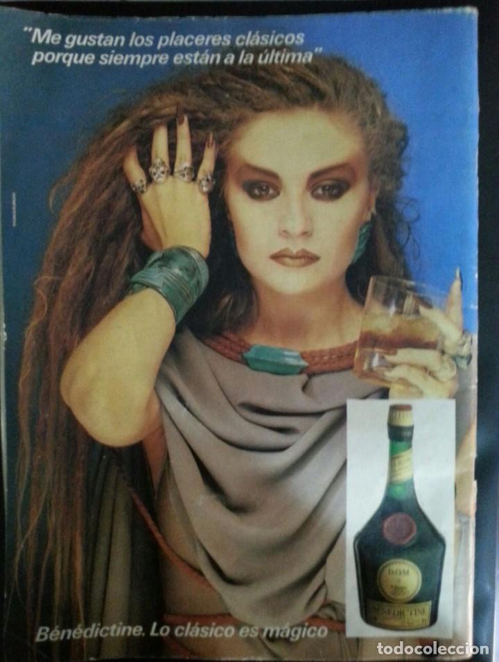 Coleccionismo de Revista Época: Revista Época, número 20, agosto 1985, Alaska en contraportada - Foto 2 - 90480159