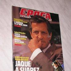 Coleccionismo de Revista Época: REVISTA ÉPOCA Nº 245 NOVIEMBRE 1989. CRISIS EN CDS ADOLFO SUAREZ, ISABEL PREYSLER, SOLCHAGA, LEGUINA. Lote 93143525
