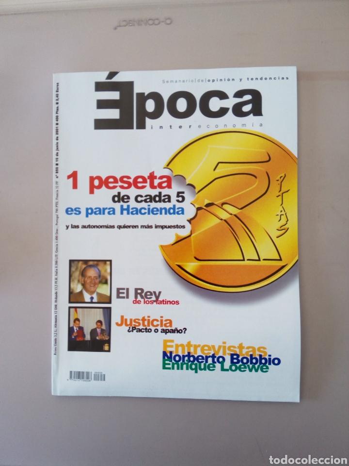 ÉPOCA INTERECONOMIA (Coleccionismo - Revistas y Periódicos Modernos (a partir de 1.940) - Revista Época)