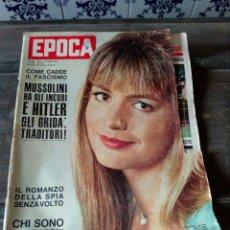 Coleccionismo de Revista Época: ANTIGUA REVISTA EPOCA. Lote 103367135