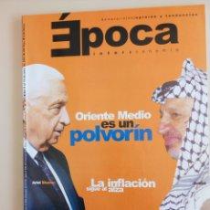 Coleccionismo de Revista Época: SEMANARIO ÉPOCA. Lote 103670015