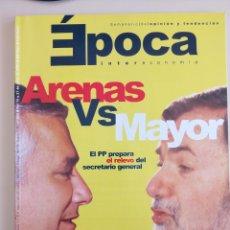 Coleccionismo de Revista Época: SEMANARIO ÉPOCA. Lote 103670356