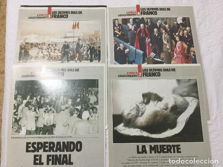 Coleccionismo de Revista Época: Revista Época. Titular: Los últimos días de Franco. - Foto 2 - 103796959