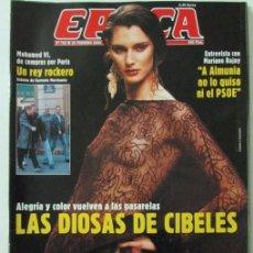Coleccionismo de Revista Época: EPOCA 783 2000 MOGHAMED VI, MARIANO RAJOY, ANTONIO BURGOS, ELENA BELOQUI, CIBELES. Lote 105360955