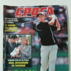 Coleccionismo de Revista Época: EPOCA 763 1999 MONTSERRAT CABALLE, ELENA MARKINEZ, NACHO CANO, TERESA RIVERO, SERGIO GARCIA. Lote 105361359