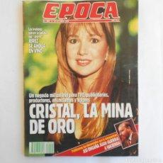 Coleccionismo de Revista Época: REVISTA ÉPOCA 294 22 OCTUBRE 1990 CRISTAL JEANETTE RODRIGUEZ MINA DE ORO ASI ENGAÑA JUAN GUERRA. Lote 115590482