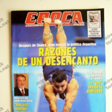 Coleccionismo de Revista Época: REVISTA ÉPOCA Nº 815 - 8 OCTUBRE 2000. Lote 116925519
