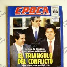Coleccionismo de Revista Época: REVISTA ÉPOCA Nº 806 - 6 AGOSTO 2000. Lote 116925619