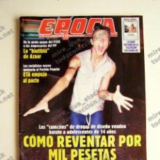 Coleccionismo de Revista Época: REVISTA ÉPOCA Nº 807 - 13 AGOSTO 2000. Lote 116925663