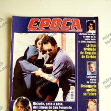 Coleccionismo de Revista Época: REVISTA ÉPOCA Nº 798 - 11 JUNIO 2000. Lote 116925939