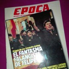 Collectionnisme de Magazine Época: REVISTA EPOCA 1989. Lote 116958807