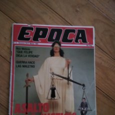 Coleccionismo de Revista Época: REVISTA EPOCA. Lote 117073304