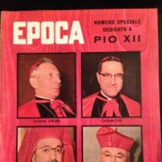 Coleccionismo de Revista Época: REVISTA EPOCA Nº 420 EN ITALIANO OCTUBRE 1958. Lote 120640599
