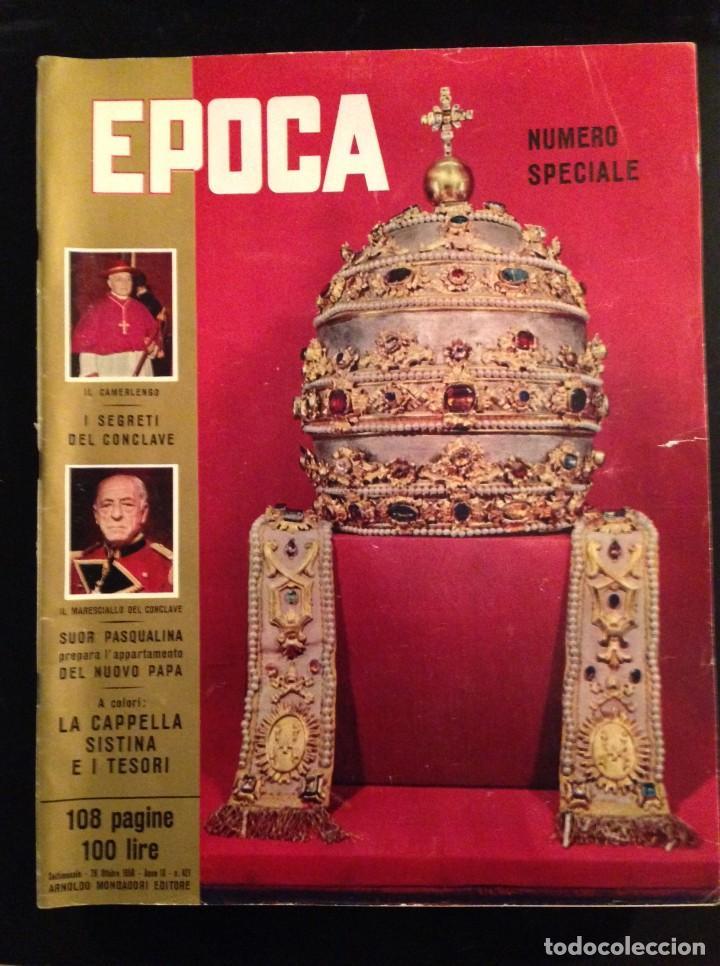 REVISTA EPOCA Nº 421 EN ITALIANO OCTUBRE 1958 (Coleccionismo - Revistas y Periódicos Modernos (a partir de 1.940) - Revista Época)