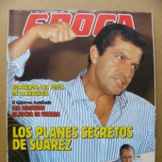 Coleccionismo de Revista Época: EPOCA 131 PALOMA SAN BASILIO ADOLFO SAUREZ PUENTE OJEA REAL MADRID CLARETTA PETACCI ANUNCI ALPINE V6. Lote 126940459