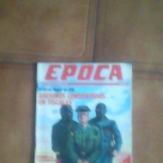 Coleccionismo de Revista Época: REVISTA EPOCA.. Lote 136489782