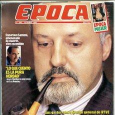 Coleccionismo de Revista Época: ÉPOCA. Nº 262. 12 MARZO 1990. 174 PÁGINAS. 'CALVIÑO TAMBIÉN COMPRA EN LOEWE'. Lote 137434190