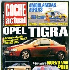 Coleccionismo de Revista Época: ÉPOCA. Nº 333. 5-11 SEPTIEMBRE 1994. 78 PP. OPEL TIGRA. AMBULANCIAS AÉREAS. . Lote 142890422