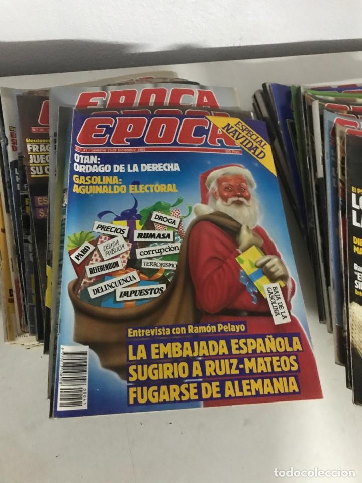 REVISTAS EPOCA 1985-1986 (Coleccionismo - Revistas y Periódicos Modernos (a partir de 1.940) - Revista Época)