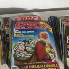 Coleccionismo de Revista Época: REVISTAS EPOCA 1985-1986. Lote 155174913