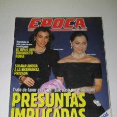 Coleccionismo de Revista Época: ÉPOCA - NÚM. 379 - ISABEL PREYSLER - CARMEN POSADAS - OPUS DEI - 01.06.1992 - 154 PÁG.. Lote 165488982