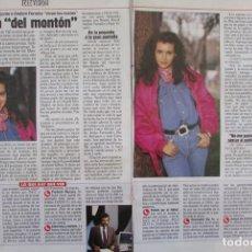 Collectionnisme de Magazine Época: RECORTE REVISTA ÉPOCA Nº 363 1992 ARANCHA DEL SOL. Lote 168694600