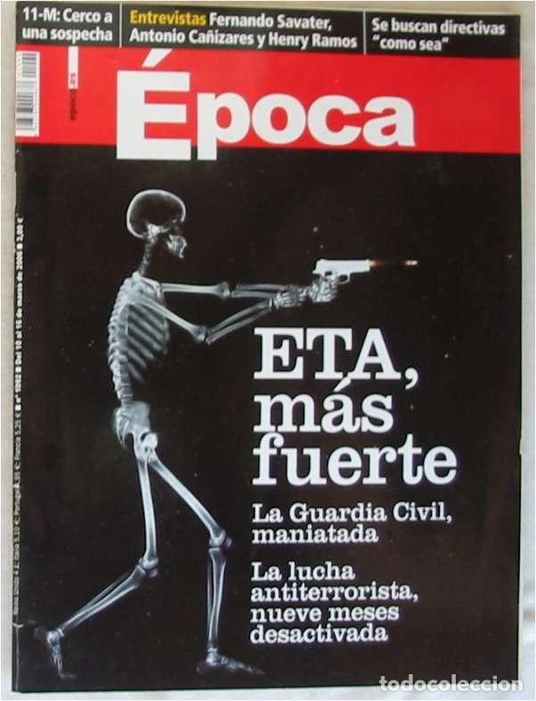 REVISTA ÉPOCA - Nº 1092 MARZO 2006 - VER INDICE Y DESCRIPCIÓN (Coleccionismo - Revistas y Periódicos Modernos (a partir de 1.940) - Revista Época)
