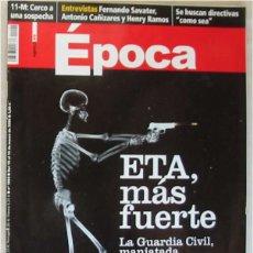 Coleccionismo de Revista Época: REVISTA ÉPOCA - Nº 1092 MARZO 2006 - VER INDICE Y DESCRIPCIÓN. Lote 172383670