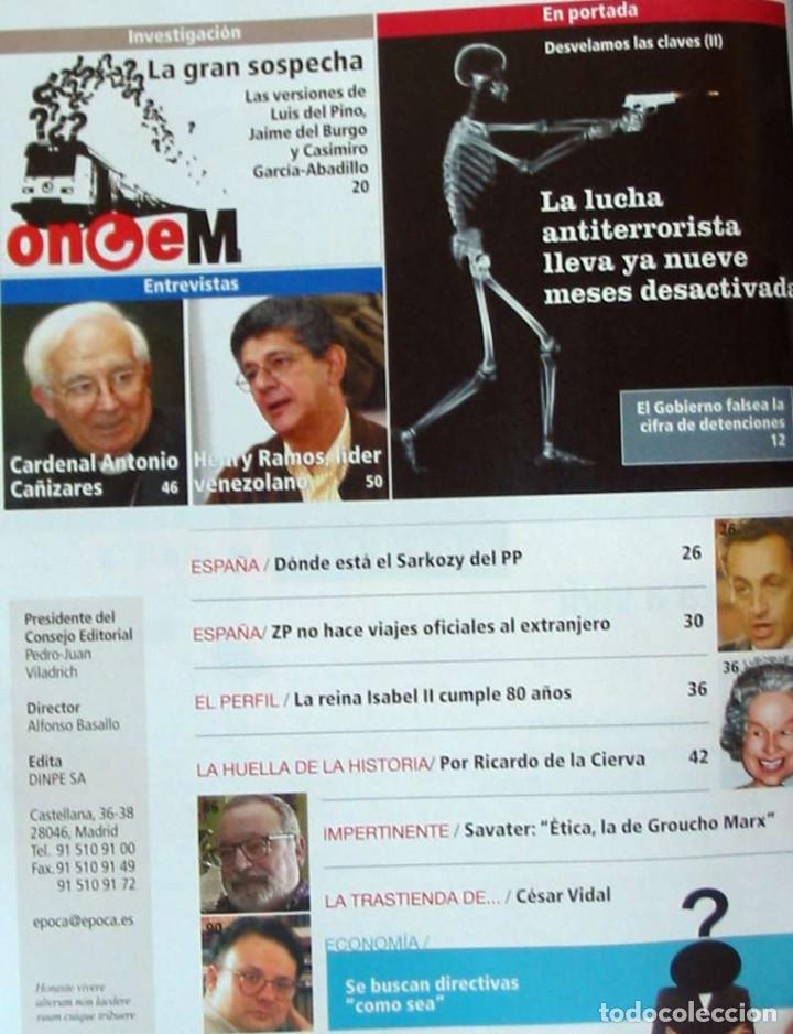 Coleccionismo de Revista Época: REVISTA ÉPOCA - Nº 1092 MARZO 2006 - VER INDICE Y DESCRIPCIÓN - Foto 2 - 172383670