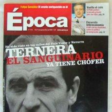Coleccionismo de Revista Época: REVISTA ÉPOCA - Nº 1115 SEPTIEMBRE 2006 - VER INDICE Y DESCRIPCIÓN. Lote 172383837