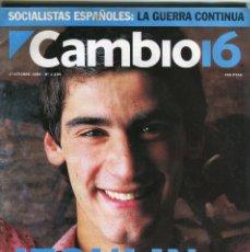 Coleccionismo de Revista Época: CAMBIO 16 Nº 1195 - JESULIN DE UBRIQUE - LINA MORGAN - CHARO LOPEZ ENTR.-LA FURA DELS BAUS- OCT.1994. Lote 172468864