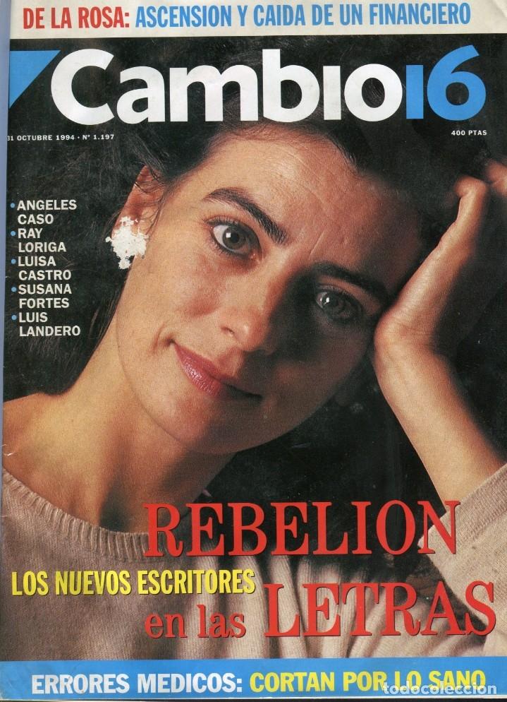 CAMBIO 16 Nº 1197 - CARLOS Y DIANA - ANGELES CASO/LUIS LANDERO/RAY LORIGA..- CANDICE BERGEN OCT.1994 (Coleccionismo - Revistas y Periódicos Modernos (a partir de 1.940) - Revista Época)
