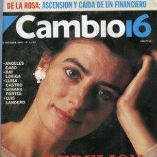Coleccionismo de Revista Época: CAMBIO 16 Nº 1197 - CARLOS Y DIANA - ANGELES CASO/LUIS LANDERO/RAY LORIGA..- CANDICE BERGEN OCT.1994. Lote 172469519
