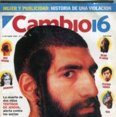 Collectionnisme de Magazine Época: CAMBIO 16 Nº 1193 -ANA BELEN - DIOSES QUE MATAN-HAITI ATAQUE-ADIOS AL VAQUILLA - ALMUNIA -OCT. 1994. Lote 172469717