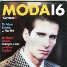 Collectionnisme de Magazine Época: CAMBIO 16 Nº 1199 - PENELOPE CRUZ ENTREVISTA - PILAR MIRÓ - ZAIBI FOTOFRAFO -.14 NOVIEMBRE DE 1994. Lote 172470053