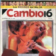 Collectionnisme de Magazine Época: CAMBIO 16 Nº 1205 - CONCHA VELASCO UNA VIDA DE ESPECTACULO - LOQUILLO - BALSEROS - 26 DICIEMBRE 1994. Lote 172475728